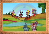 The Beatles: Save Pepperland Browser By throwing your letters, that is.