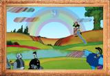 The Beatles: Save Pepperland Browser But if a bonked citizen leaves the screen the Chief Blue Meanie zaps a Beatle and laughs.