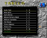 Speedway Manager 2 Amiga League table