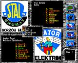 Speedway Manager 2 Amiga Match main screen