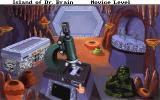 The Island of Dr. Brain DOS First screen