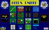 Leeds United Champions! Atari ST Main menu: tactic, league, some statistics and transfer options
