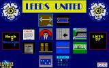 Leeds United Champions! Atari ST Sub-menu for extending stadium, defining training and some other options