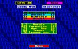 Leeds United Champions! Atari ST Game preparation: view of the next opponent team. I should work on the team's morale!