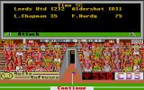 Leeds United Champions! Atari ST Another league game. Easy win this time