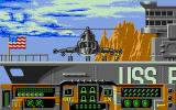 Firehawk Atari ST In game intro: our helicopter starts