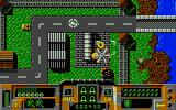 Firehawk Atari ST Fighting the military buildings of the evil drug lords