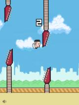 Fall Out Bird iPad Don't tap when you want to go down