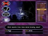 Who Wants to Be a Millionaire: 2nd Edition Windows This shows the 50:50 option has been used. Two incorrect answers have been removed