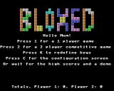 Bloxed Acorn 32-bit Title screen / main menu