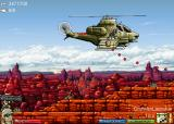 Heli Attack 3 Browser zone 3-4: the biggest helicopter that send a lot of missiles also