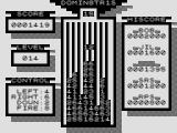 Dominetris ZX81 The game gets harder in later levels