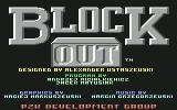 Blockout Commodore 64 Title