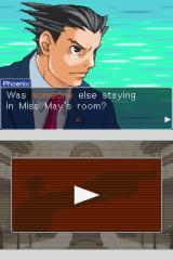 Phoenix Wright: Ace Attorney Nintendo DS Dramatic closeup