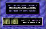 Prospector Pete Commodore 16, Plus/4 Title Screen.