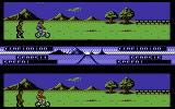Pro Mountain Bike Simulator Commodore 64 Ready to start.