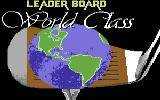 World Class Leader Board Commodore 64 Title screen