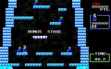 Ice Climber Sharp X1 Bonus stage, recover stolen vegetables and get to the top of the peak
