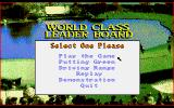 World Class Leader Board Amiga Title screen