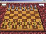Champion Chess Windows The standard game set up. All game options are accessed via drop down boxes from the menu bar.