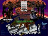 This Means War! Windows 3.x Main screen