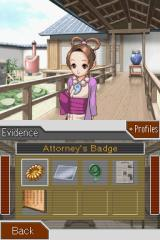 Phoenix Wright: Ace Attorney - Justice for All Nintendo DS Looking into our Court Record.