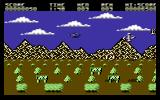 Gun Runner Commodore 64 Let's rescue some men.