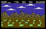 Gun Runner Commodore 64 A man to rescue.