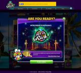 Hit It Rich! Casino Slots Browser Game start.