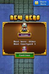 Nimble Quest iPhone Found a new hero!
