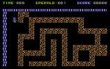 Emerald Mine Commodore 16, Plus/4 A dirt maze.
