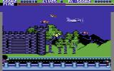 Percy the Potty Pigeon Commodore 64 Things get faster and more hectic on later levels.