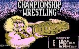 Championship Wrestling Commodore 16, Plus/4 Loading Screen.