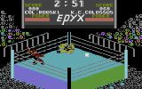 Championship Wrestling Commodore 16, Plus/4 Flying kick.