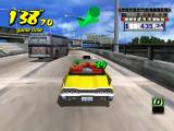 Crazy Taxi GameCube On the Freeway