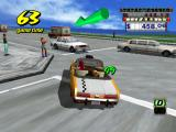 Crazy Taxi GameCube Not a legal left turn.