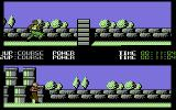 Para Assault Course Commodore 64 Approaching a wall.