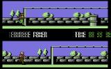 Para Assault Course Commodore 64 The Parallel bars.