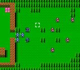 Fire Emblem Gaiden NES Battle Map