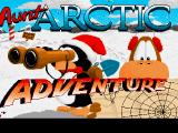 Aunt Arctic Adventure Amiga Title Screen