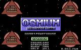 Osmium Commodore 64 Loading Screen.