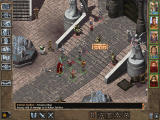 Baldur's Gate II: Throne of Bhaal Windows Battle is raging in front of the palace. You've come to help!