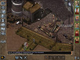 Baldur's Gate II: Throne of Bhaal Windows City of Saradush, docks district. NPCs complain about you. You notice seagulls and... a strangely looking cow