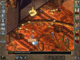 Baldur's Gate II: Throne of Bhaal Windows Uh-oh. Draconis, one of the game's boss enemies, hasn't decorated his palace this nicely just to have a cup of tea with me and my friends