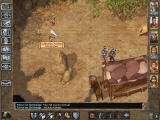 Baldur's Gate II: Throne of Bhaal Windows Even in the oasis, some pesky archers attack me!..