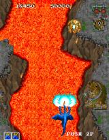 Dragon Saber: After Story of Dragon Spirit Arcade River of lava.