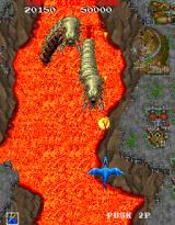 Dragon Saber: After Story of Dragon Spirit Arcade Two more nasties to blast.