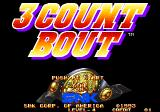 3 Count Bout Arcade Title Screen.