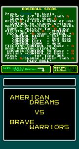 Baseball Stars Arcade Next Game.