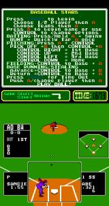 Baseball Stars Arcade Your turn to pitch.
